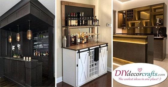 Modern Home Bar Ideas 20 Living Room Bar Ideas