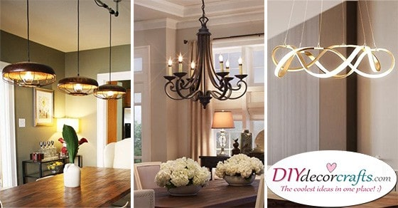 dining room lighting fixture ideas