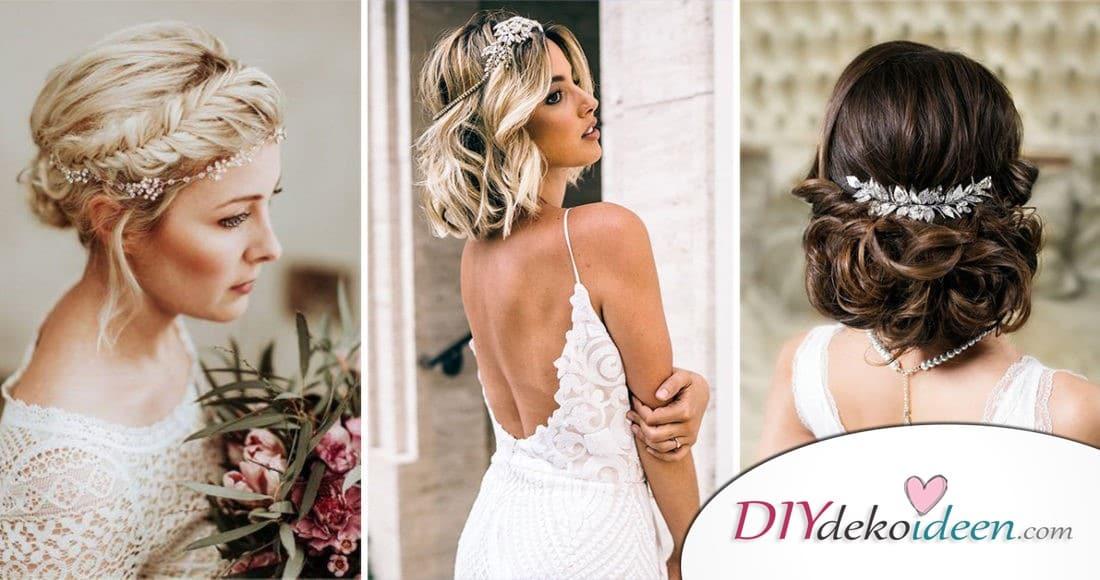 Hochzeitsfrisuren Fur Mittleres Haar 50 Fotos Schonheit 2020