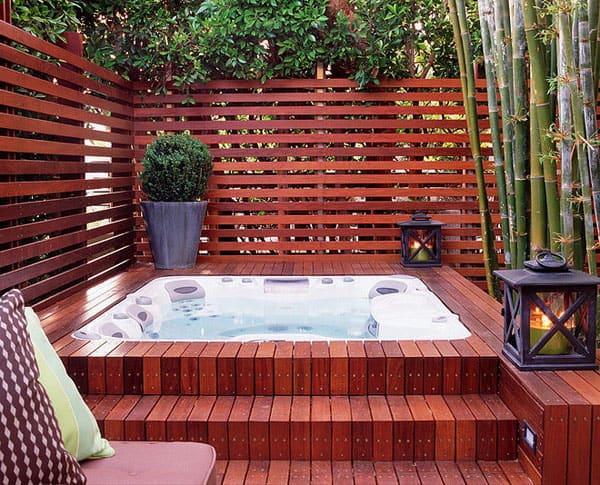 ideen fur deinen outdoor whirlpool