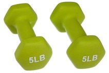 Best Workout: 5 pound weights