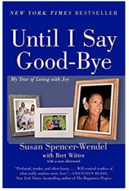 Fall Book List: Until I say Good bye