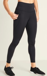 Workout leggings: Old Navy pockets