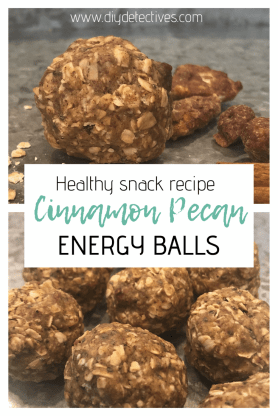 Cinnamon Pecan Energy Balls