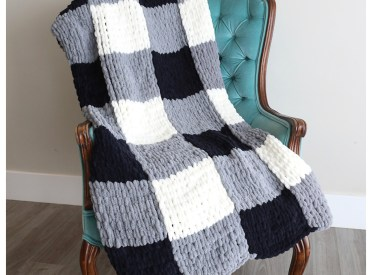 Diy gift ideas: Loop blanket