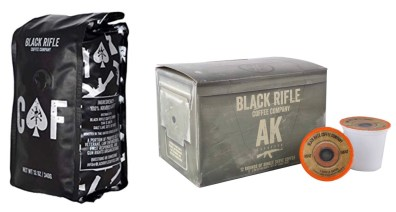 gift ideas for your guy: black rifle coffee