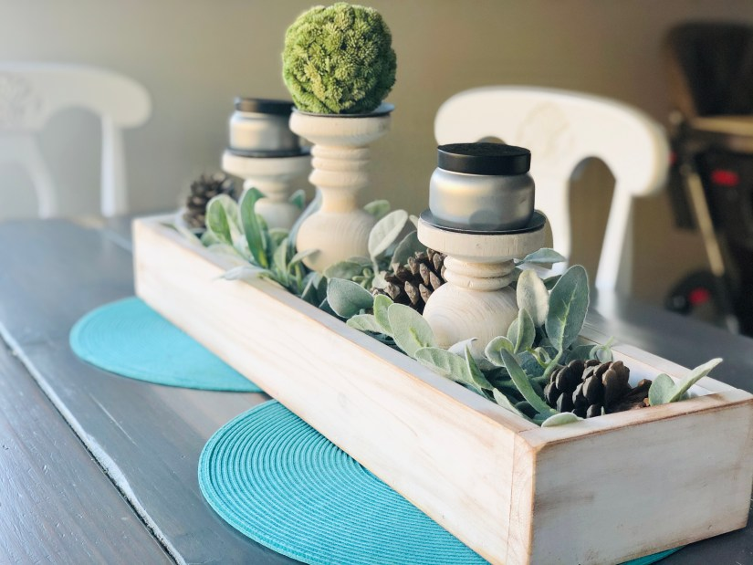 DIY Centerpiece: Winter Fill