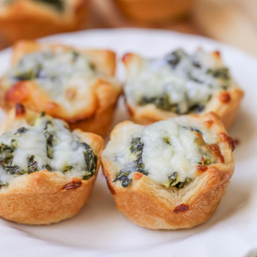 Super Bowl Party: Cheese and Spinach Bites