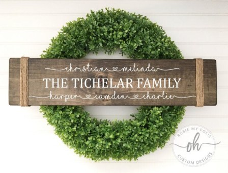 Rope Ends Family Sign