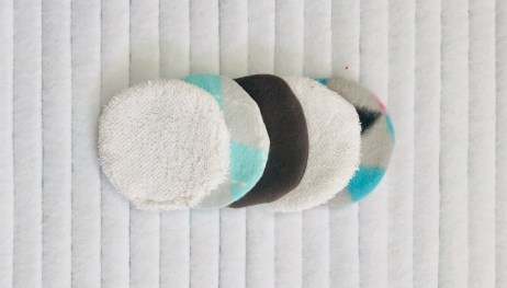 Scrap Fabric Reusable Make-Up Pads