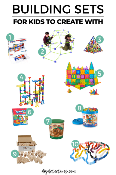 Building Sets for Kids to Create With