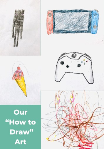 "Our ""how to draw"" art"