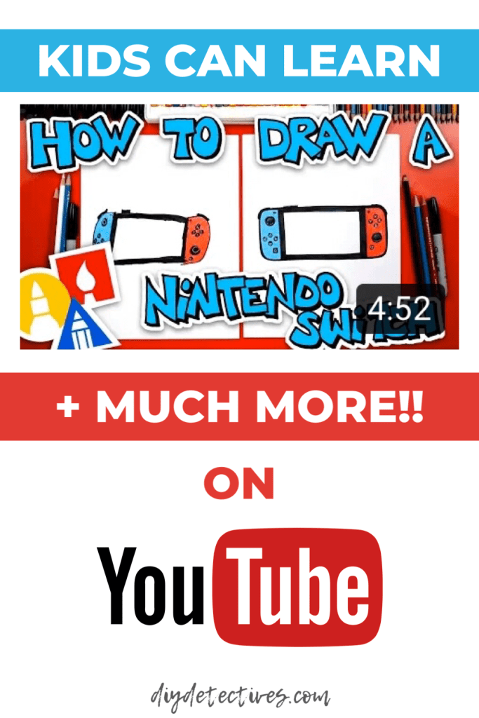 Kids Can Learn How to Draw on YouTube