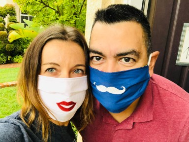 Our DIY face masks