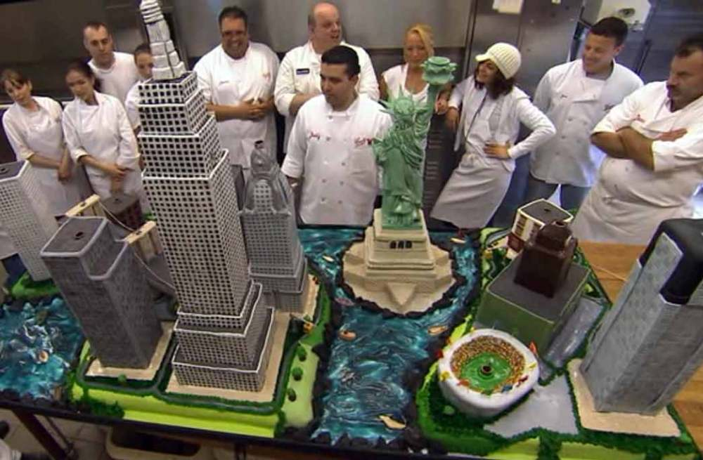 When the Cake Boss met the Cookie Monster (5/5)