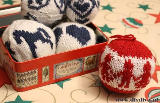 kerstballen breien Arne Carlos diydiva