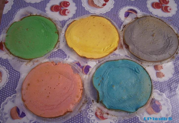 rainbowcake bruidstaart diydiva