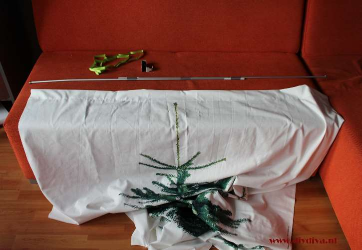 Ikea kerstboomstof diydiva