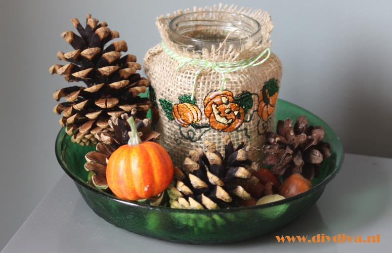 Halloween of herfst decoratie maken de diy diva for Decoratie herfst