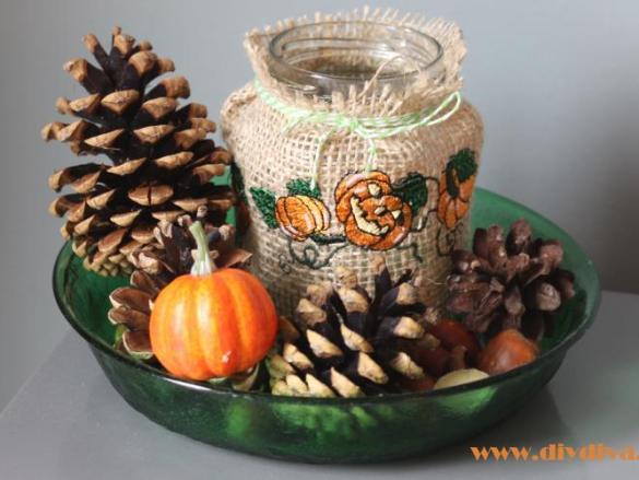 Halloween of herfst decoratie maken