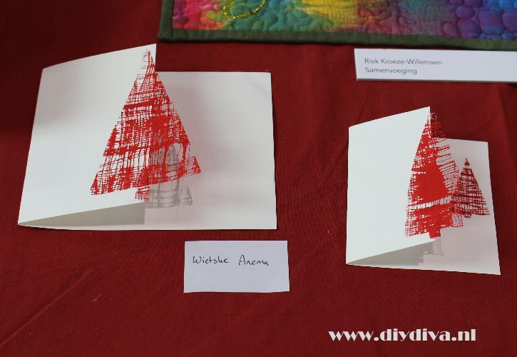 eenvoudige kerstkaart maken diydiva