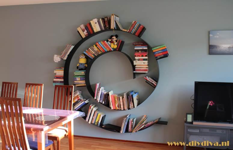 boekenwurm boekenkast diydiva