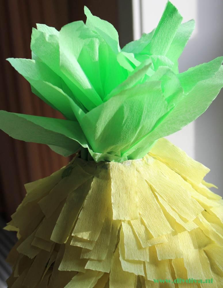 pinata maken ananas diydiva