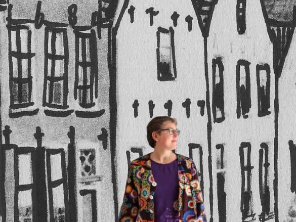 Desigual style blouse – van jurk naar top