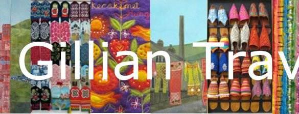 Kwijlen met de quilts van Gillian Travis