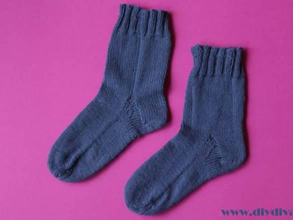 Bucketlist gedaan: mijn eerste gebreide sokken!