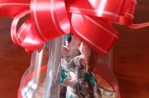 mistletoe miniatuur kerstmis creatief diydiva