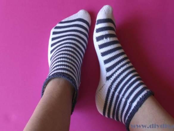 Mijn marine sokken zijn als mijn leven…