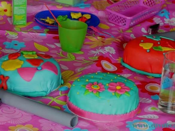 Idee: taart versier feestje