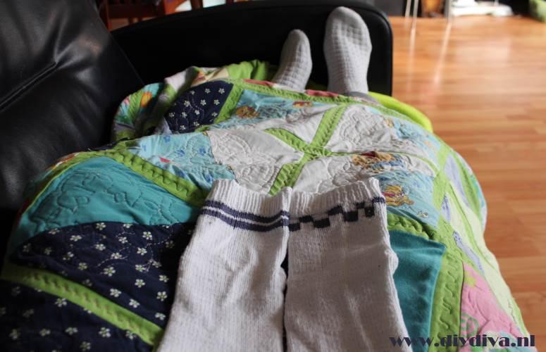 sokken kleur inbreien diydiva