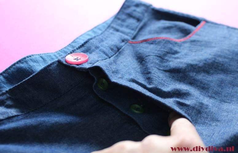 knoopgulp jeans maken diydiva