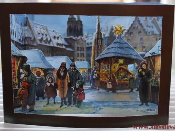 Mooi 3d kerstkaart idee
