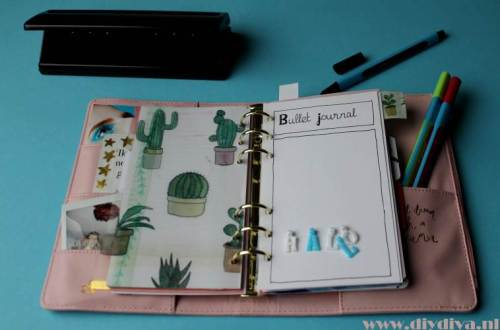 bullet journal maken diydiva
