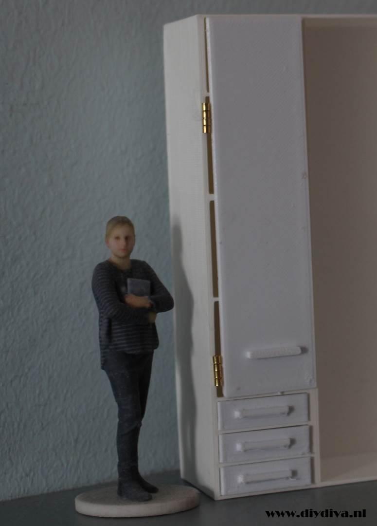 Ikea miniature kast Pax diydiva