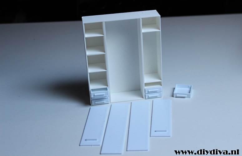 Miniatuur Ikea Pax Kast Af De Diy Diva
