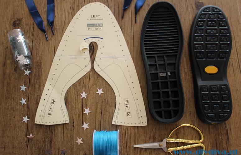 sneakerkit patroon zelf sneakers maken diydiva