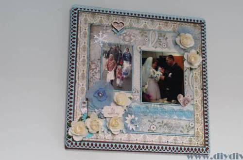 scrapbook huwelijk diydiva