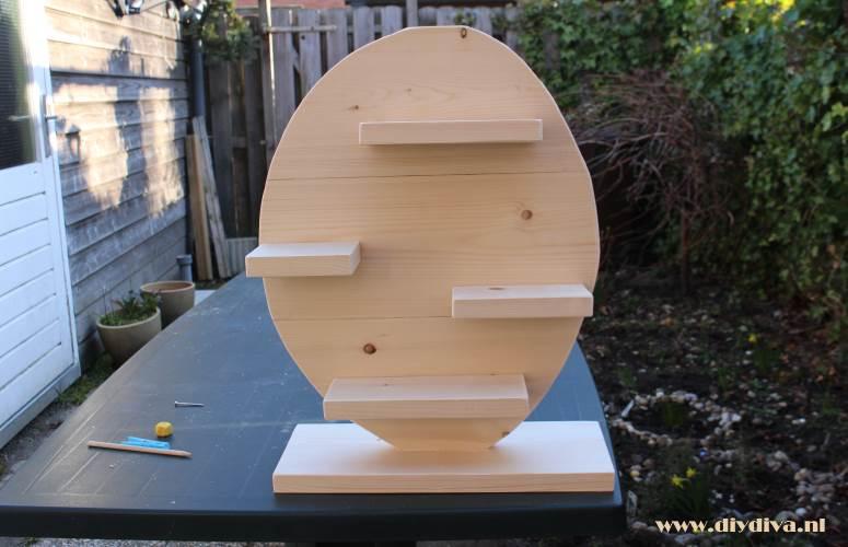 houten paasei maken diydiva