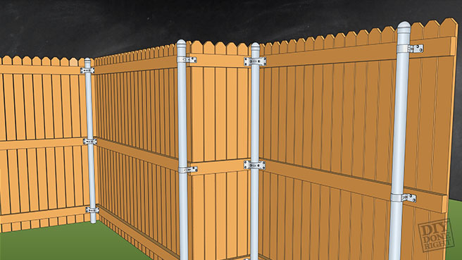 Fence Gate Building Board 4