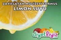 ılık limon suyu