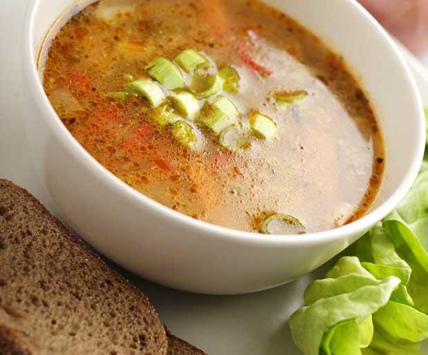 Lahana çorbası ile yağ yakın ve zayıflayın