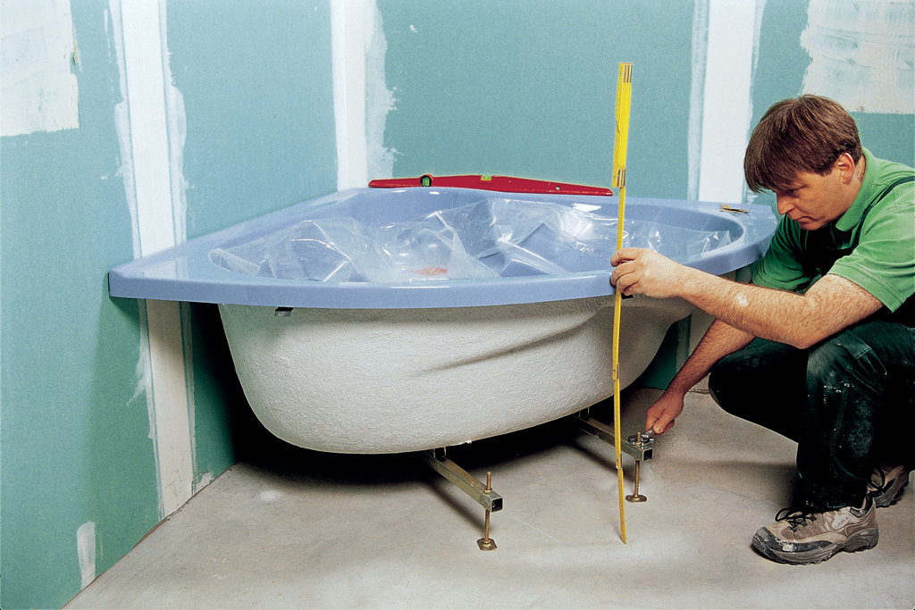 Installer Une Baignoire Dangle Avec Un Tablier Intgr