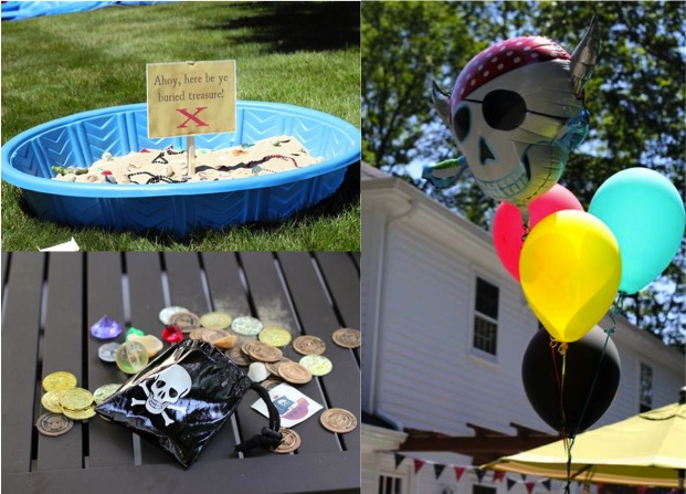 How To Throw Your Kids A Pirate Themed Birthday Party Do It Yourself Fun Ideas