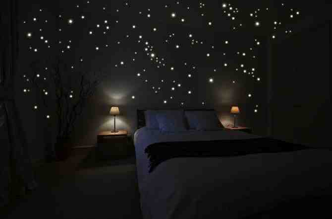 Diy Star Scape For The Kids Room Do It Yourself Fun Ideas