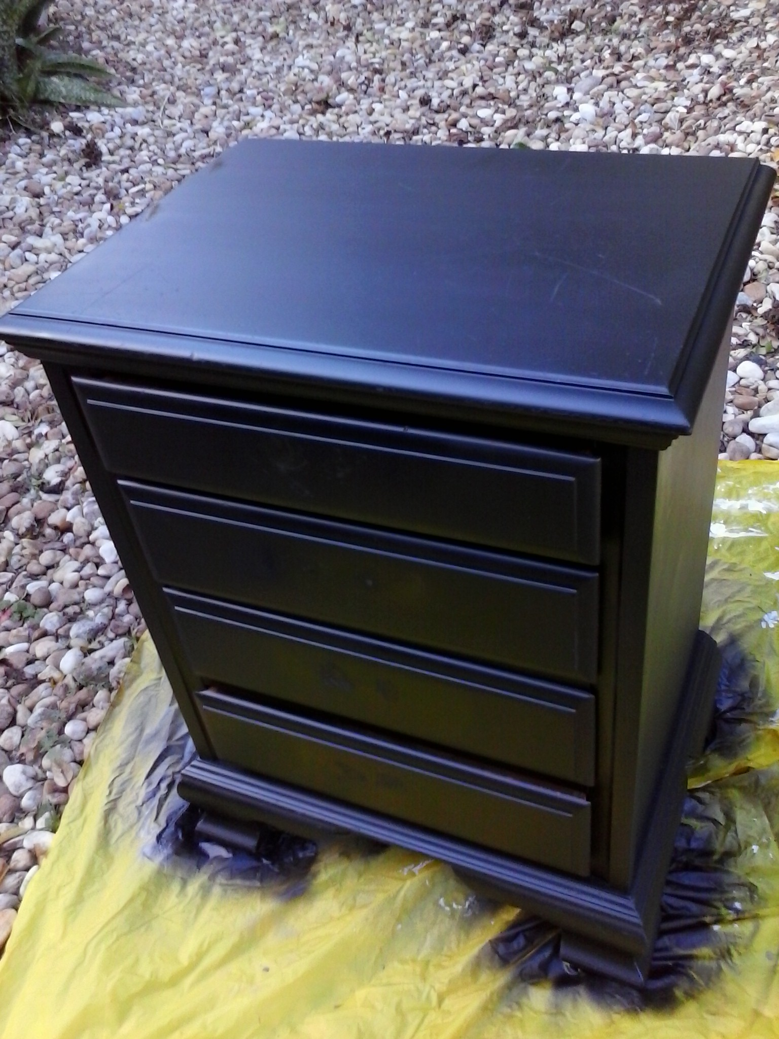 Ridiculously Awesome Shabby Chic Furniture Makeover Using