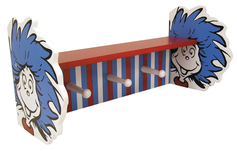 Dr Seuss Shelf Coat Rack Do It Yourself Fun Ideas